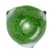 Glass Evil Eye Bead Round 10mm Approx. Handmade Green